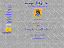 Tablet Preview of amberger-stadtpfeifer.de